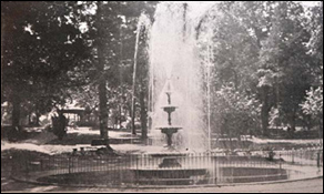 Original 1889 Fountain now waits for restoration