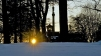 Project: Monument. Sunrise through the Monument honoring 97th Regiment from West Chester. Photo: JAS