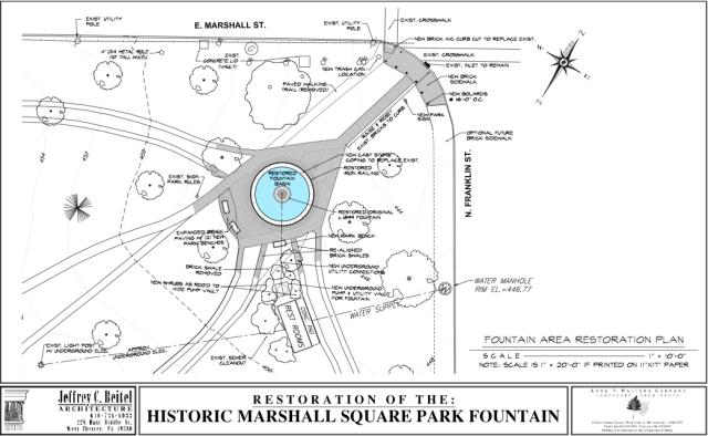Fountain Plan View 1