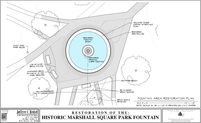 Fountain Plan View 1 Closeup