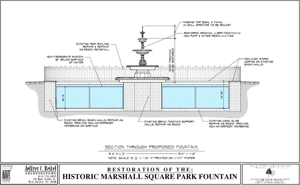 2013 October Fountain Blueprints on Marshall Floor Plan