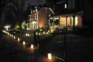 Franklin Street Luminaria