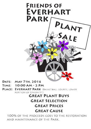 Plant Sale Poster '16 B-W ai.tif