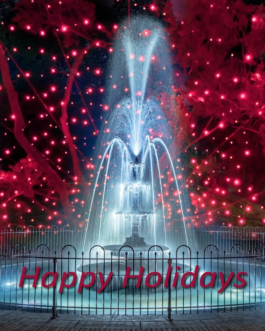FMSP Fountain • Happy Holidays 12/21/2017