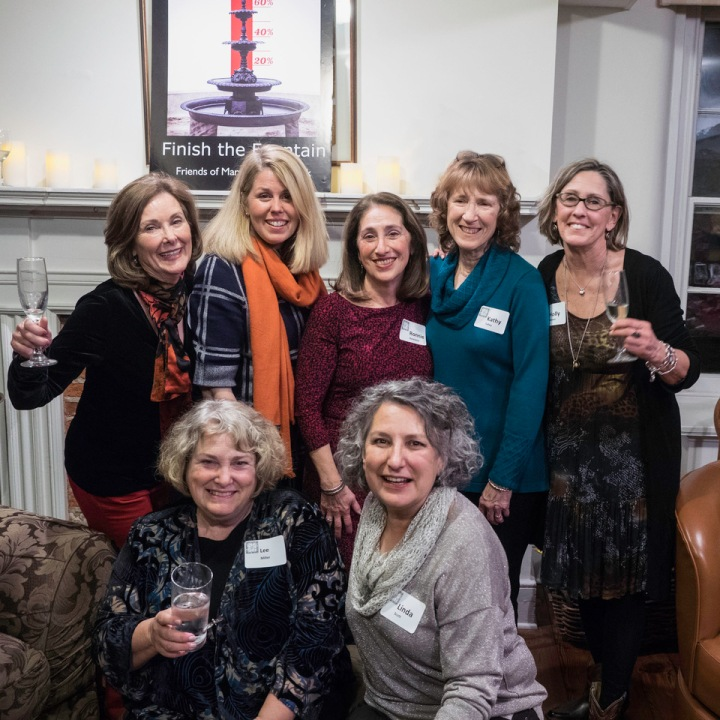 Our 2016 Events Committee having fun at their 10th Annual Progressive Dinner